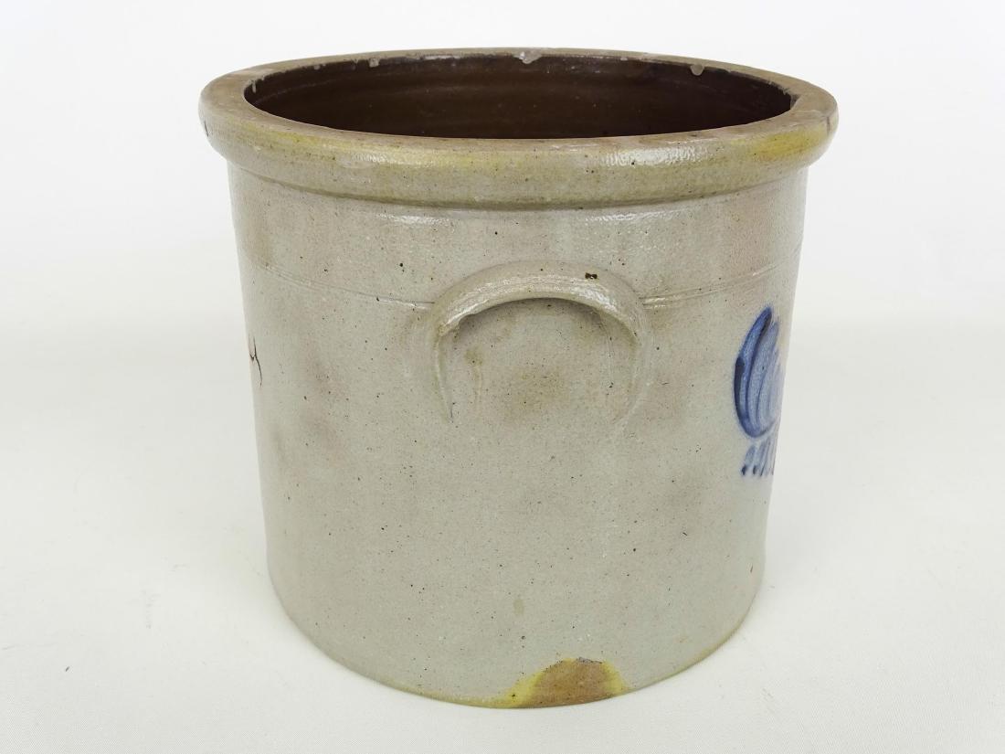 19th c. Stoneware Crock - 3