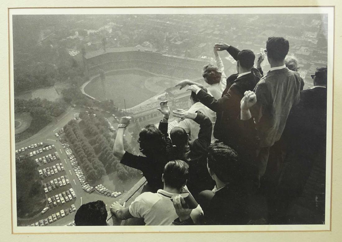 Vintage Baseball Game Print - 2
