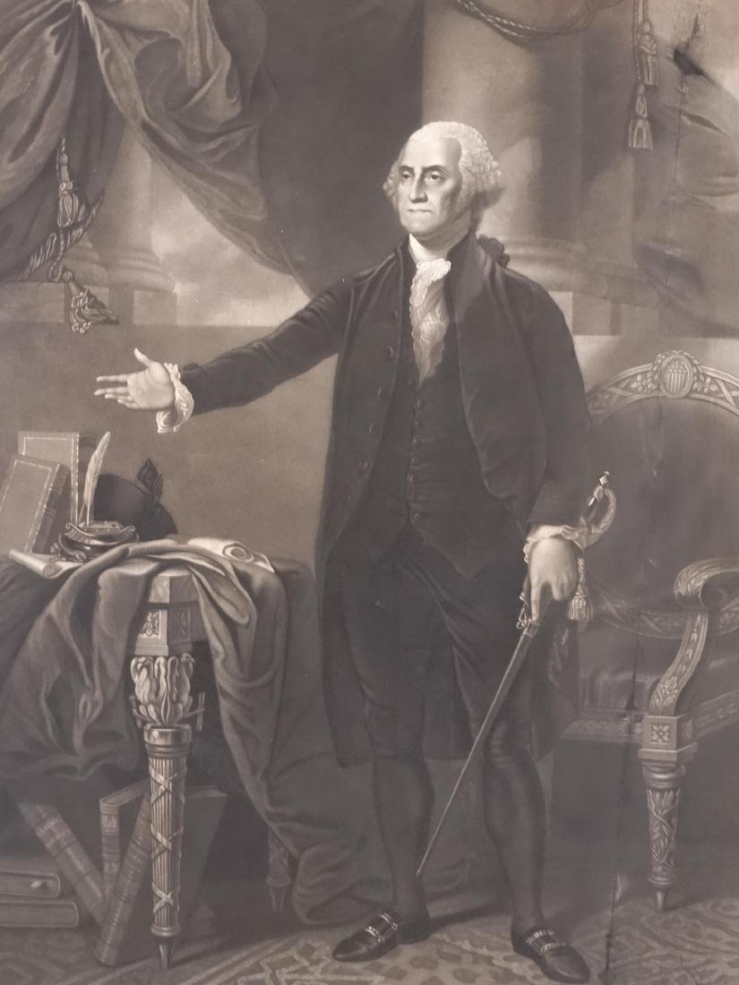 19th c. Print Of George Washington - 2