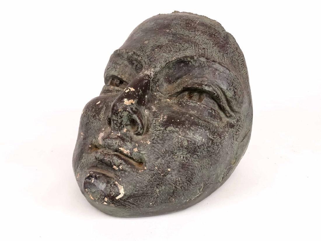 Cast Plaster Head