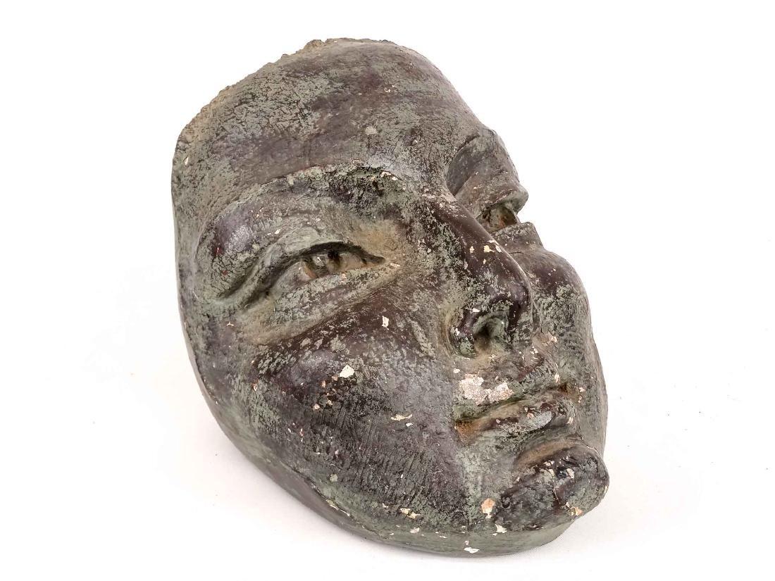 Cast Plaster Head - 3