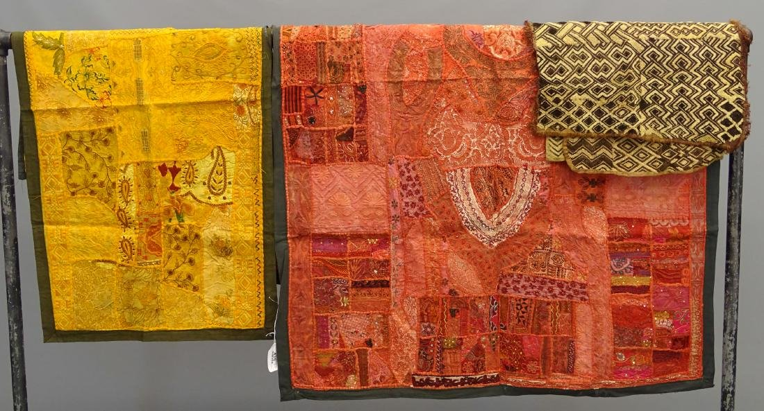 Embroidered Indian Textiles