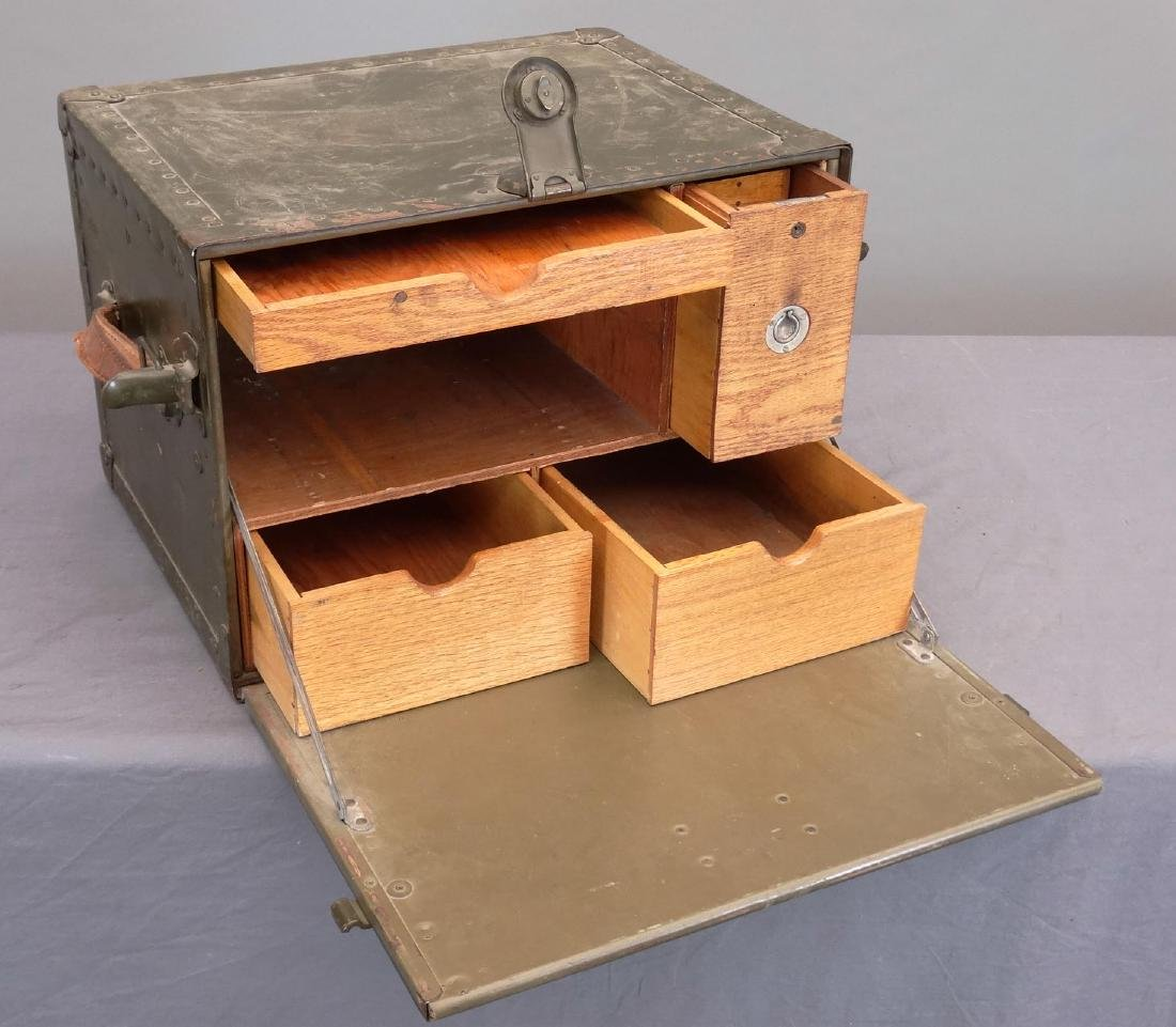 WWII Army Portable Desk - 3