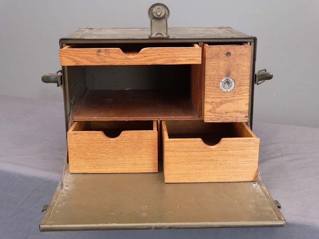 WWII Army Portable Desk - 4
