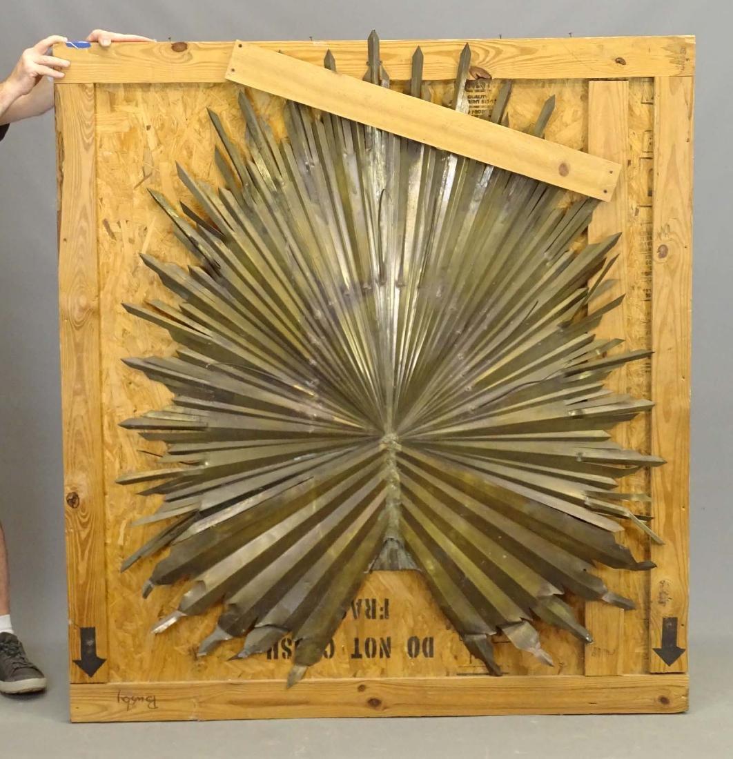 Early Continental Brass Sunburst Element