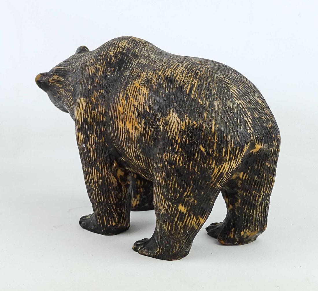 Redware Bear - 3