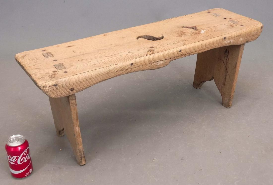 19th c. Bench