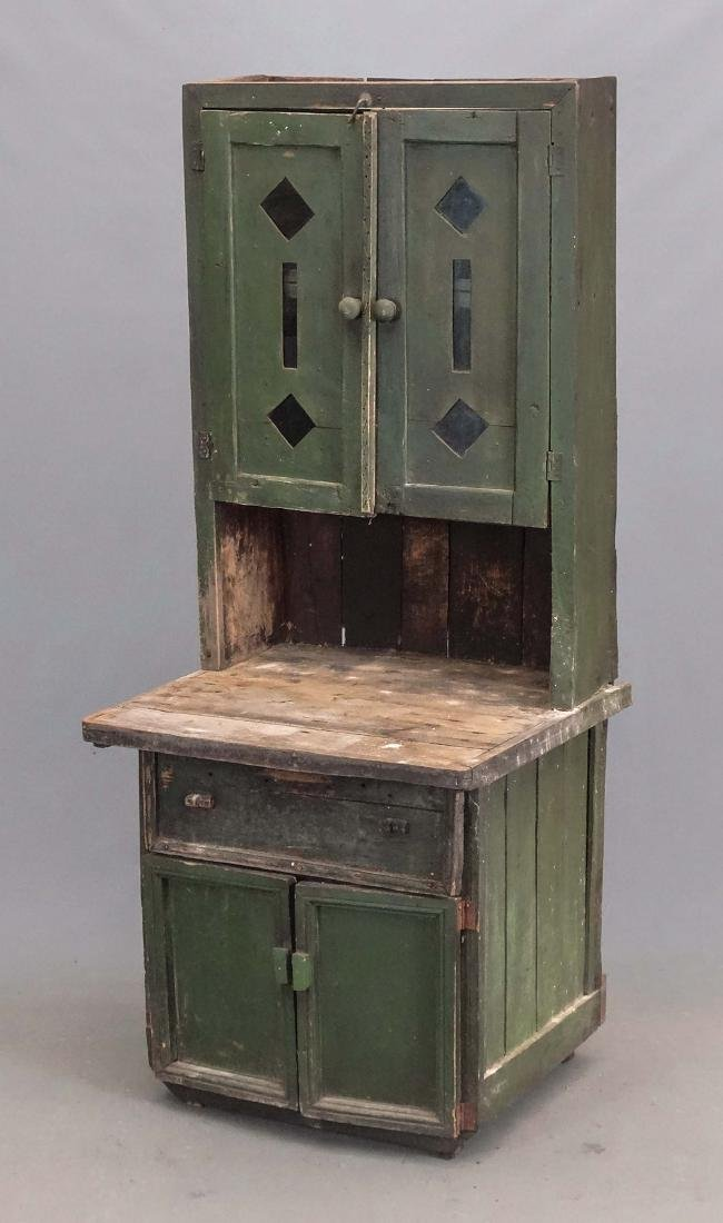19th c. Continental Cupboard