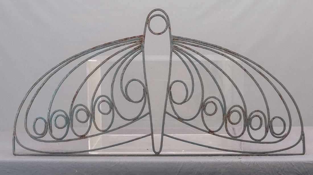 Art Deco Wrought Iron Window Grate