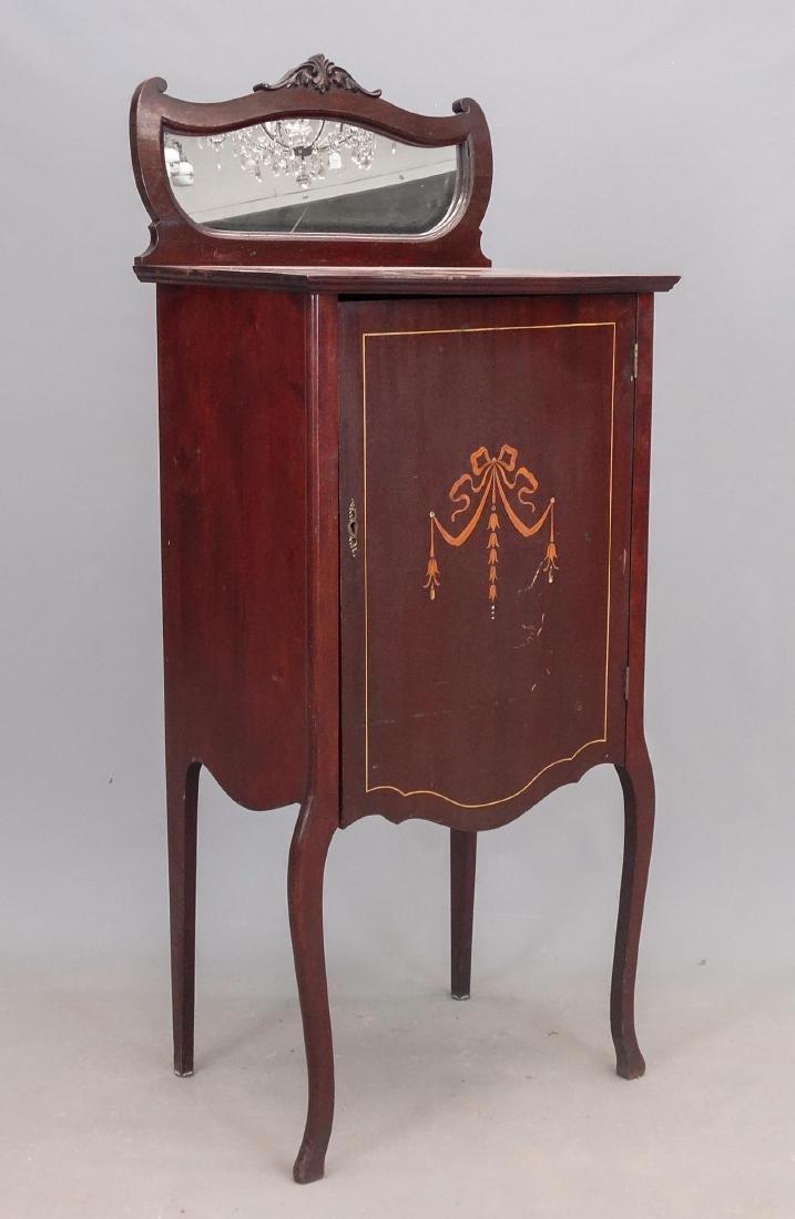 C. 1900's Sheet Music Cabinet