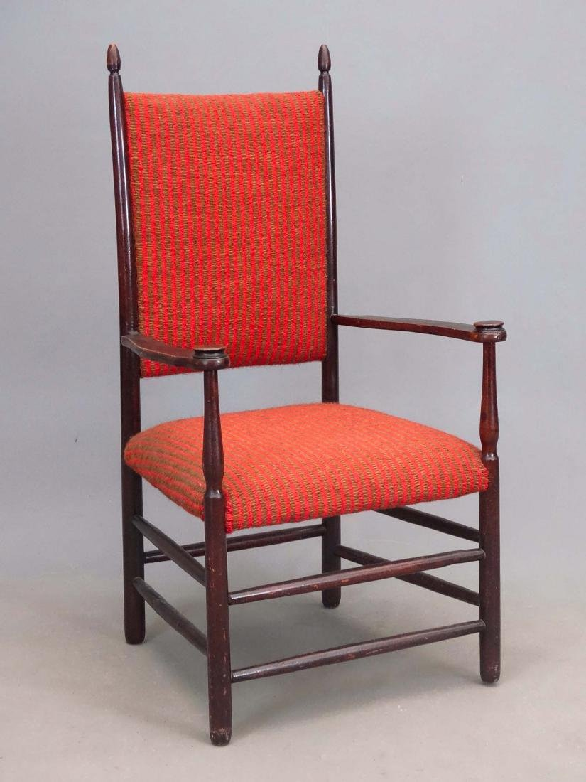 19th c. Shaker Armchair