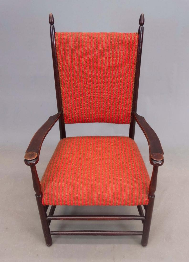 19th c. Shaker Armchair - 3