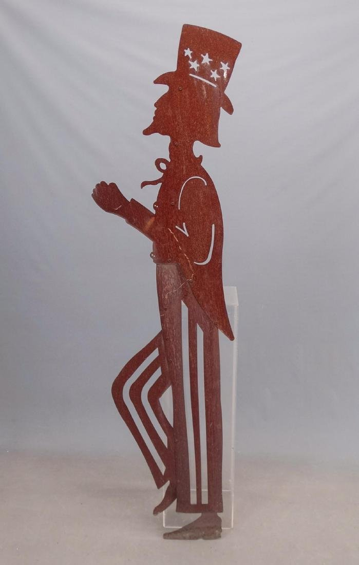 Sheet Metal Uncle Sam Figure