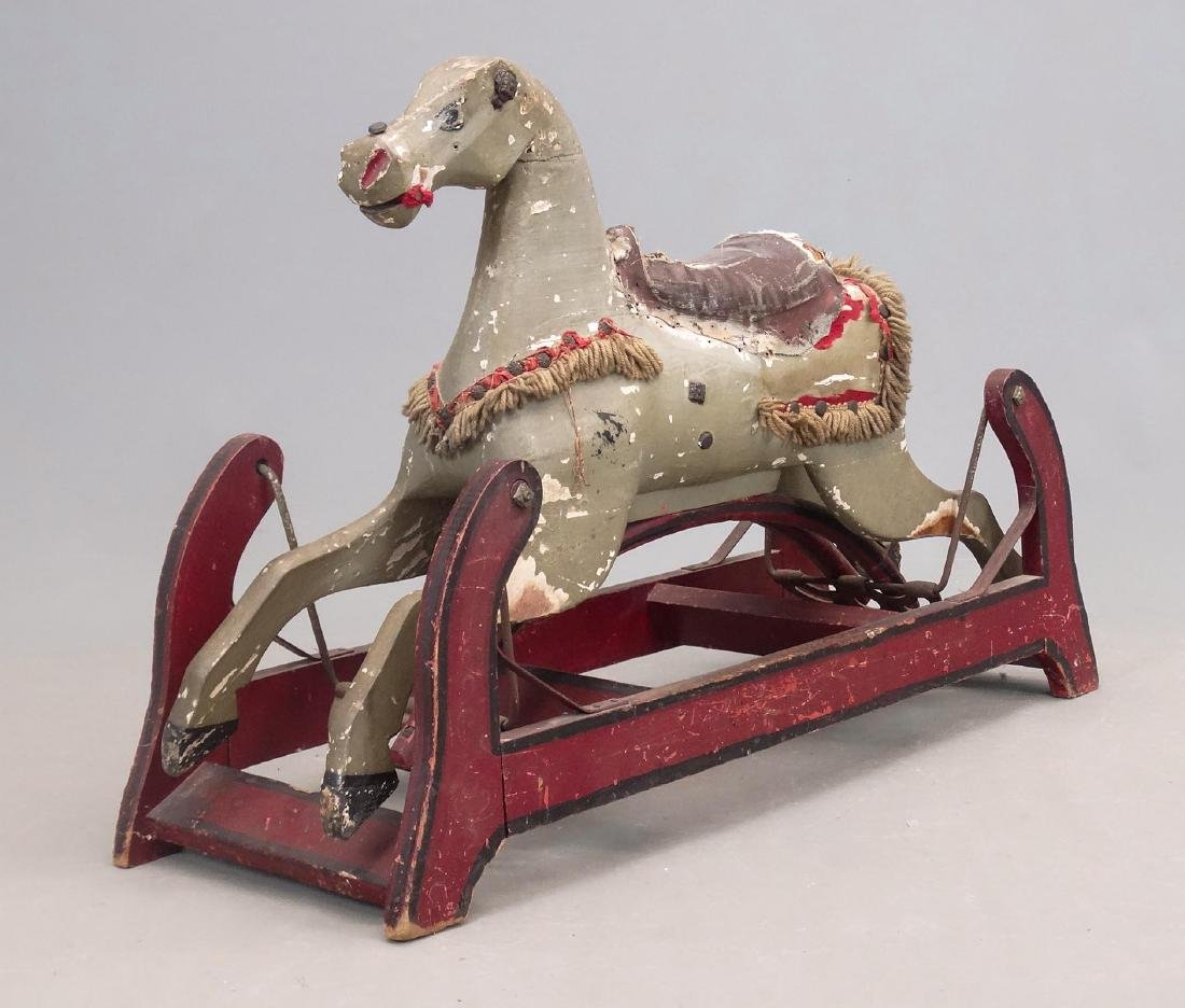 19th c. Rocking Horse - 3