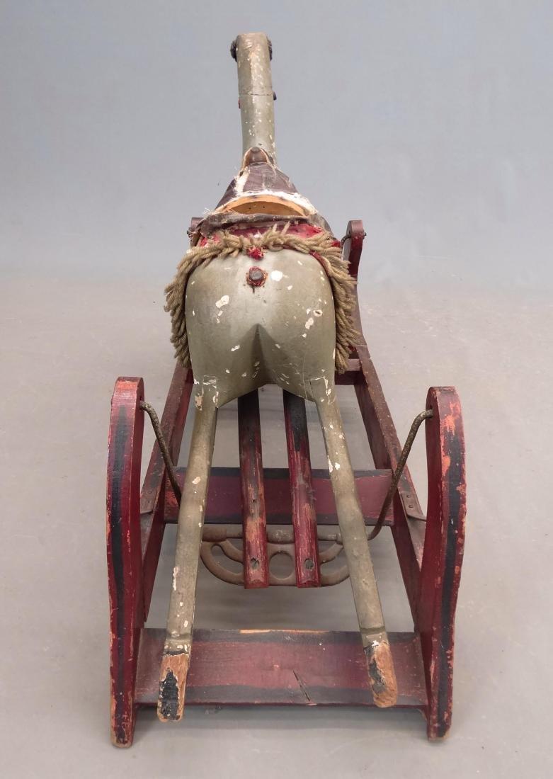 19th c. Rocking Horse - 4
