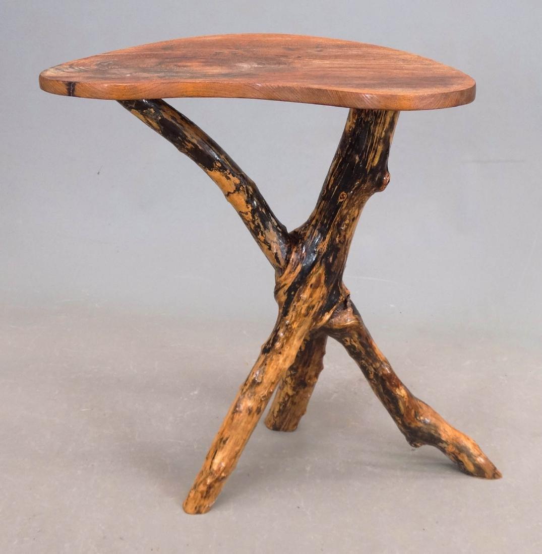 Rustic Lamp Table