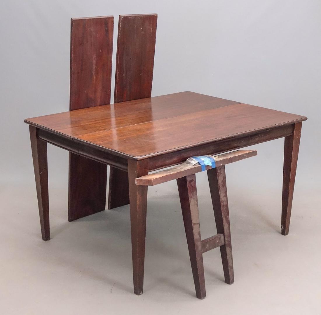 Mahogany Table - 3