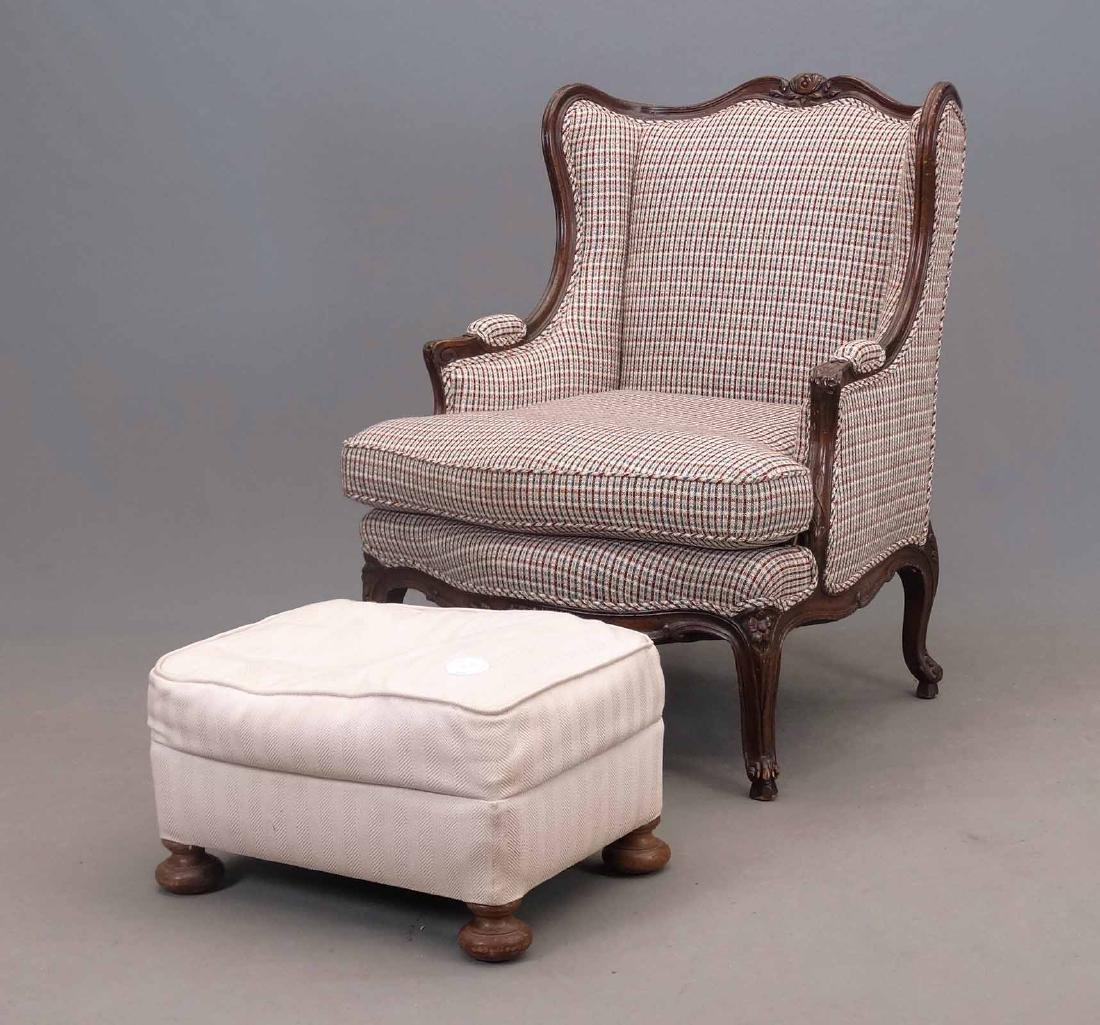 French Style Upholstered Chair