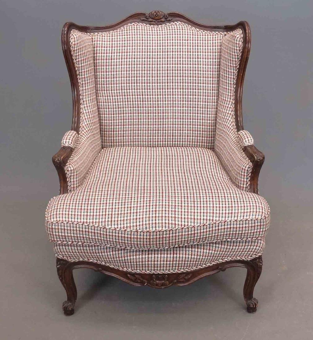 French Style Upholstered Chair - 2