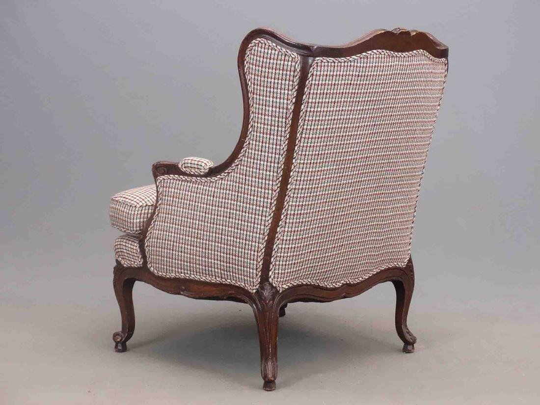 French Style Upholstered Chair - 3