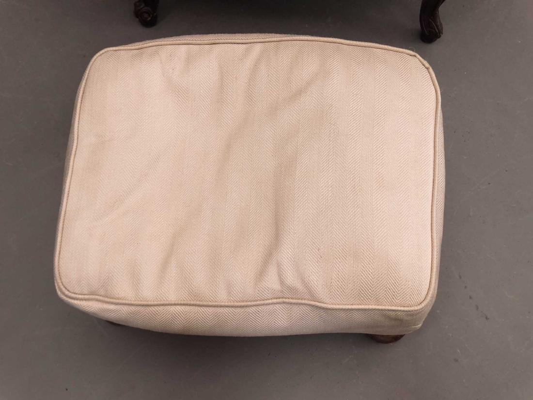 French Style Upholstered Chair - 4