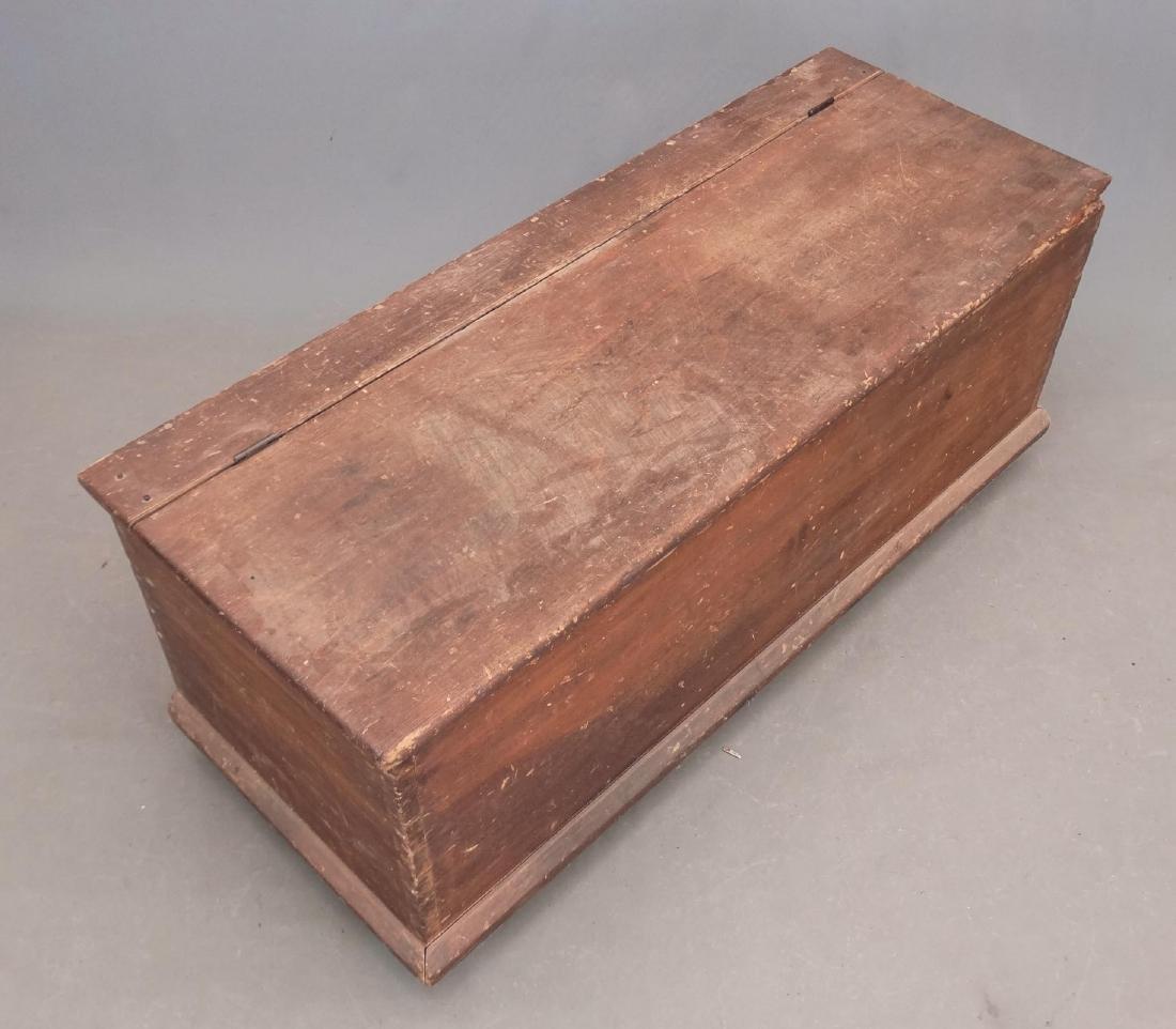 19th c. Blanket Box - 2