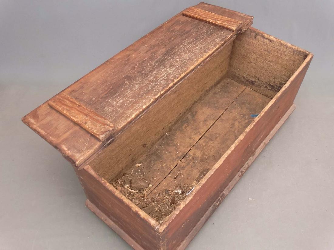 19th c. Blanket Box - 4