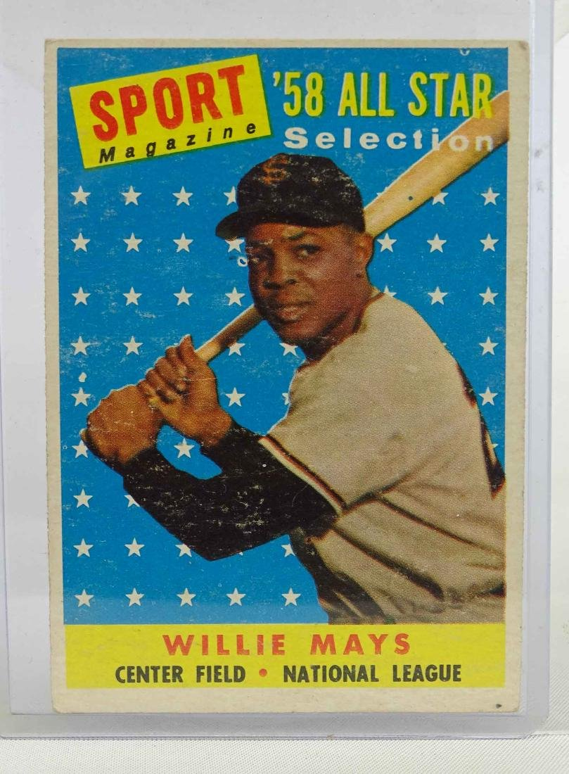 Willie Mays Baseball Card