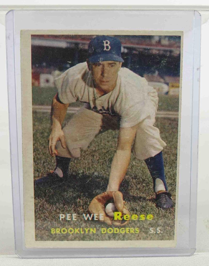 Pee Wee Reese Baseball Card