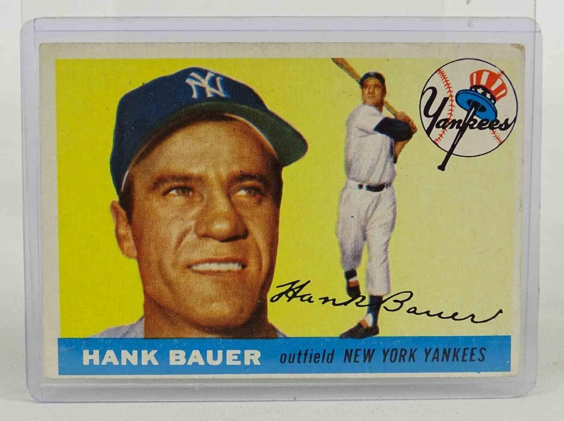 Hank Bauer Baseball Card