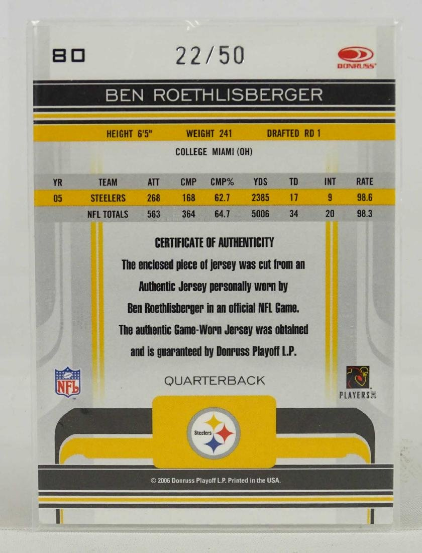 Ben Roethlisberger Card - 2