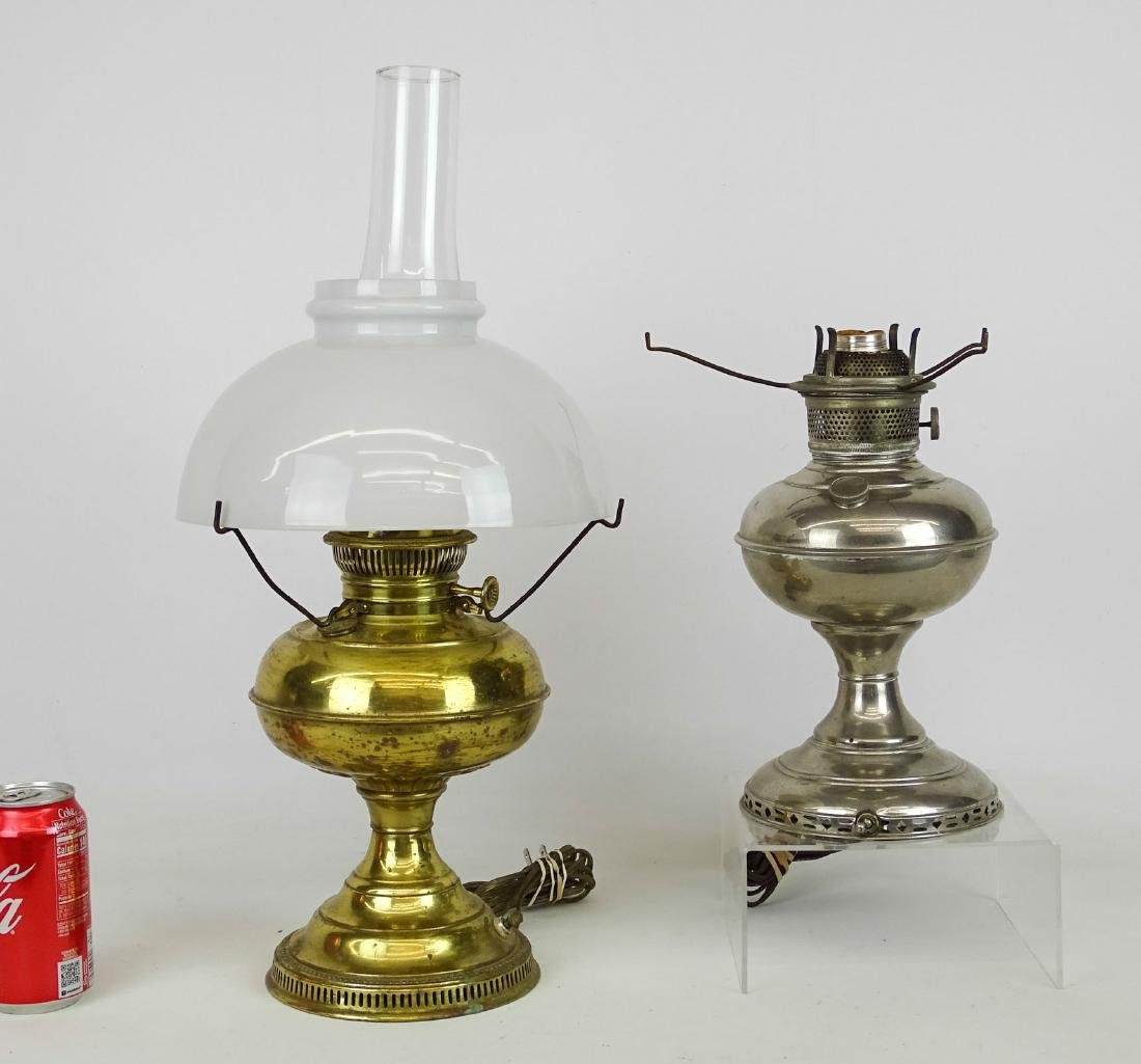 Oil Lamp Lot