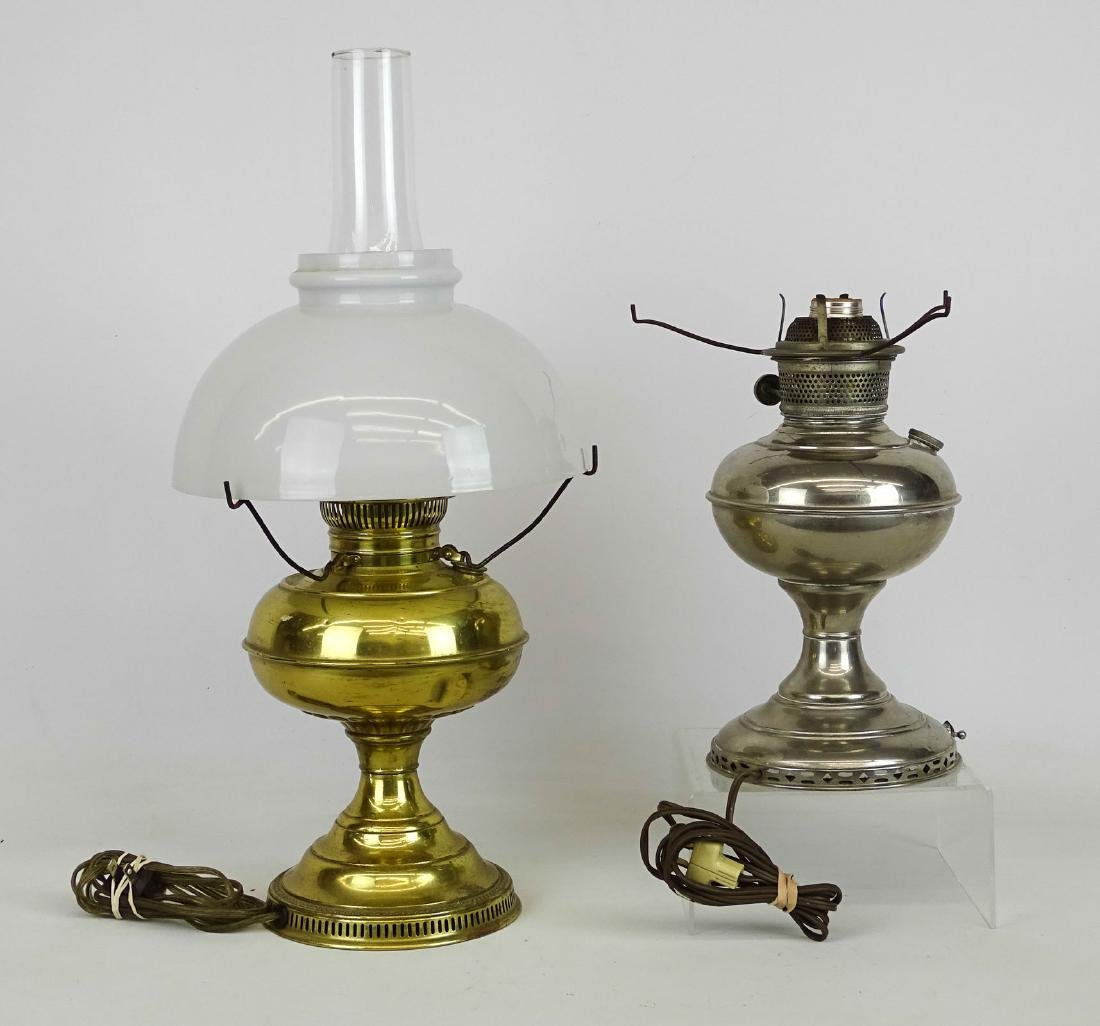 Oil Lamp Lot - 2