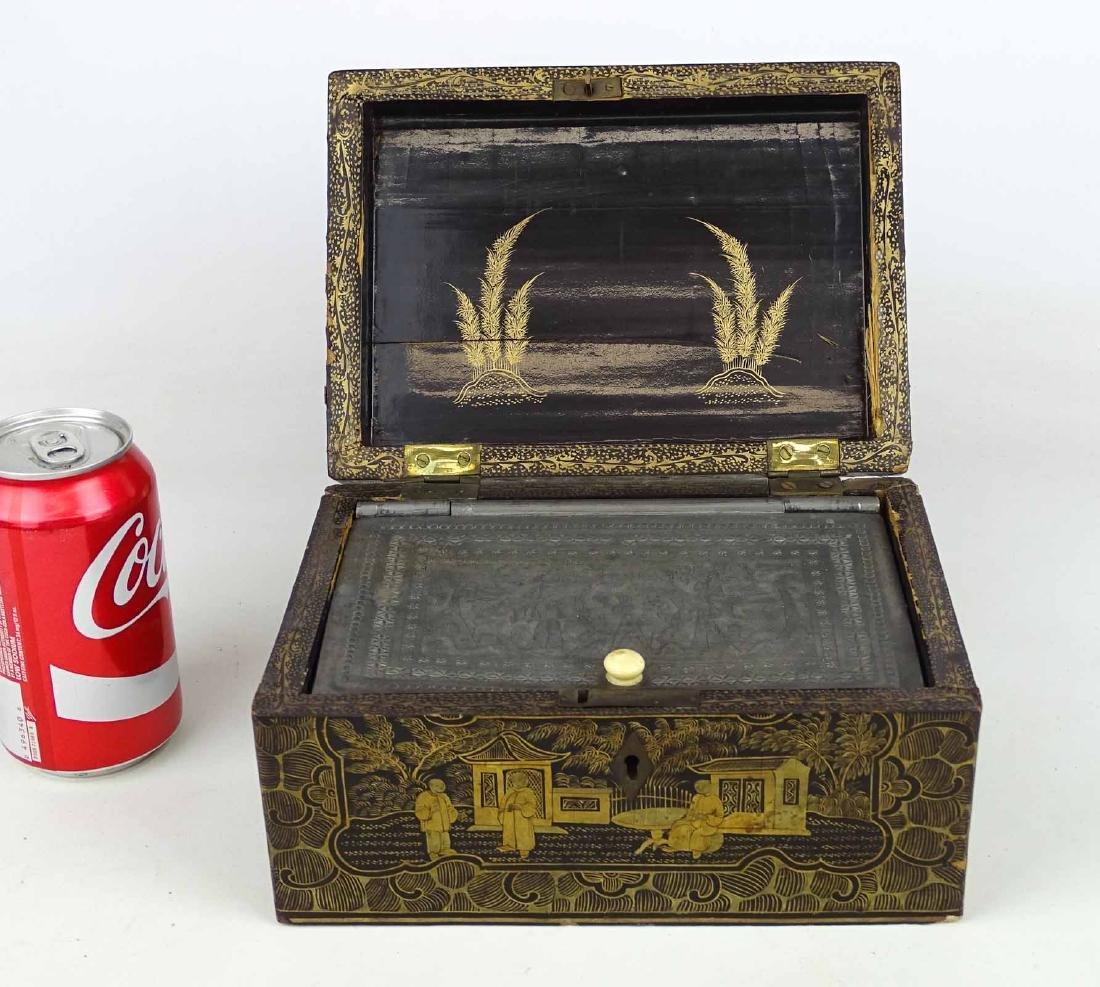 Chinoiserie Tea Box