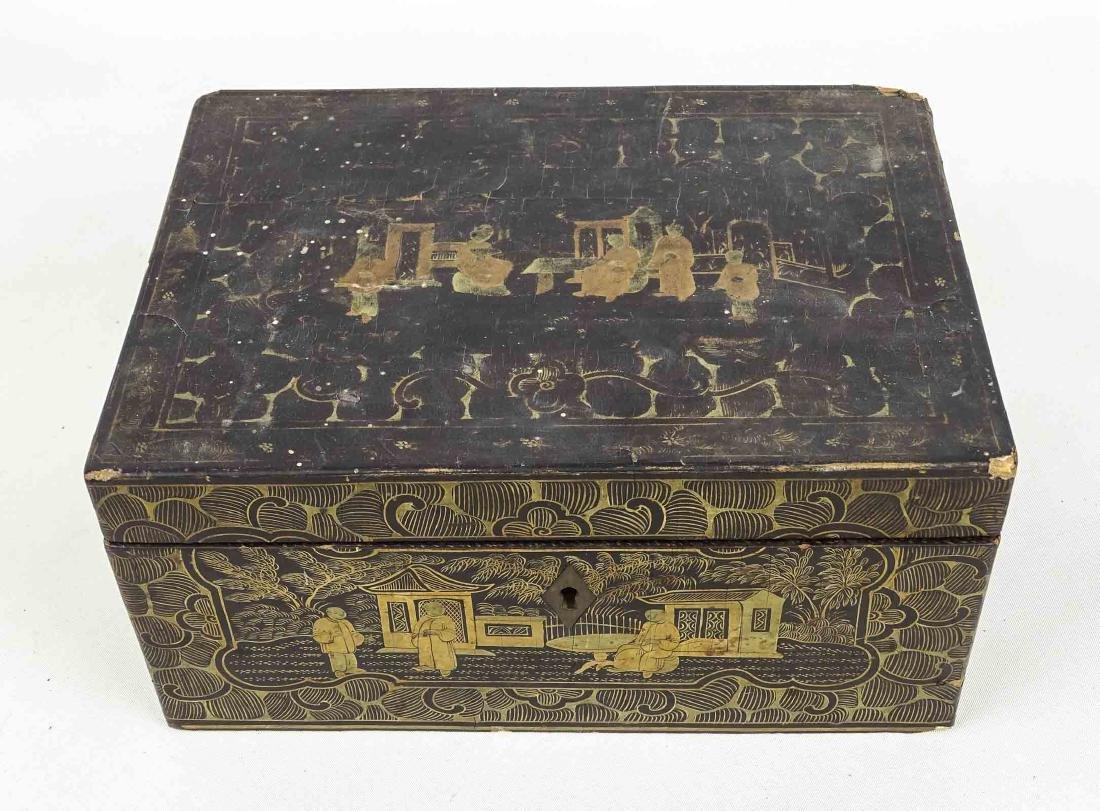 Chinoiserie Tea Box - 2
