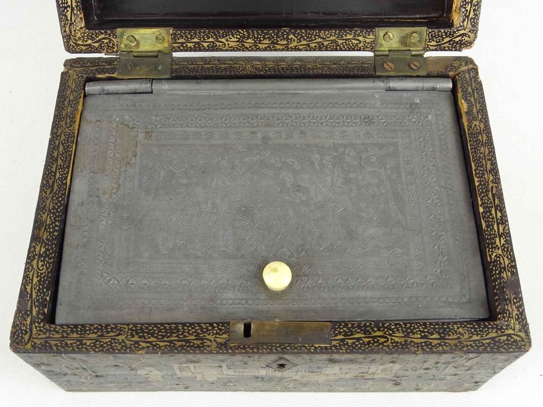 Chinoiserie Tea Box - 6