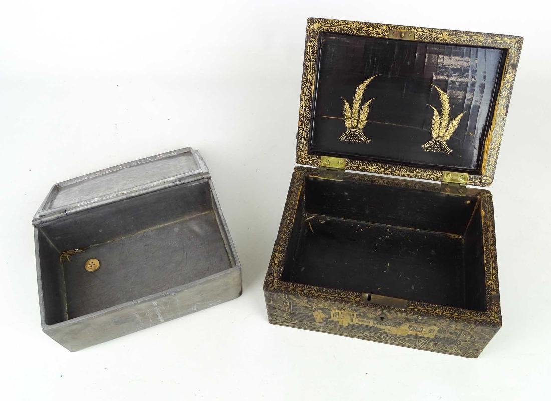 Chinoiserie Tea Box - 8