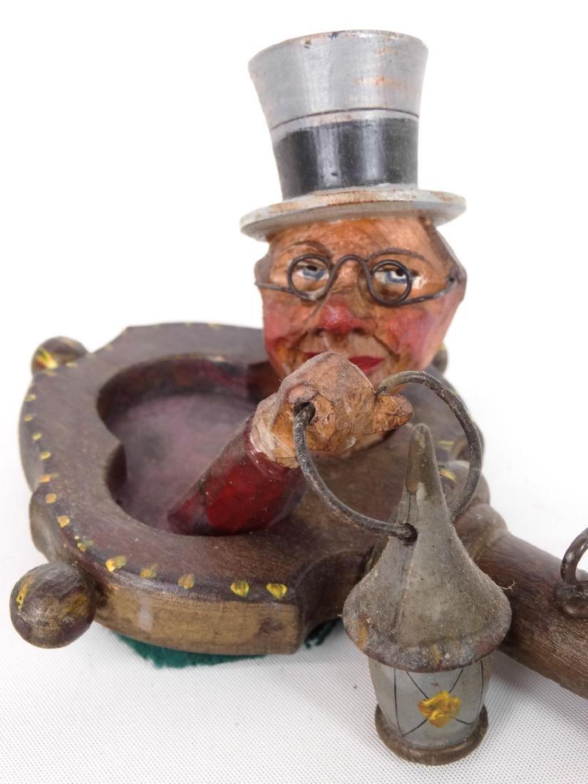 German Folk Art Key Holder - 3