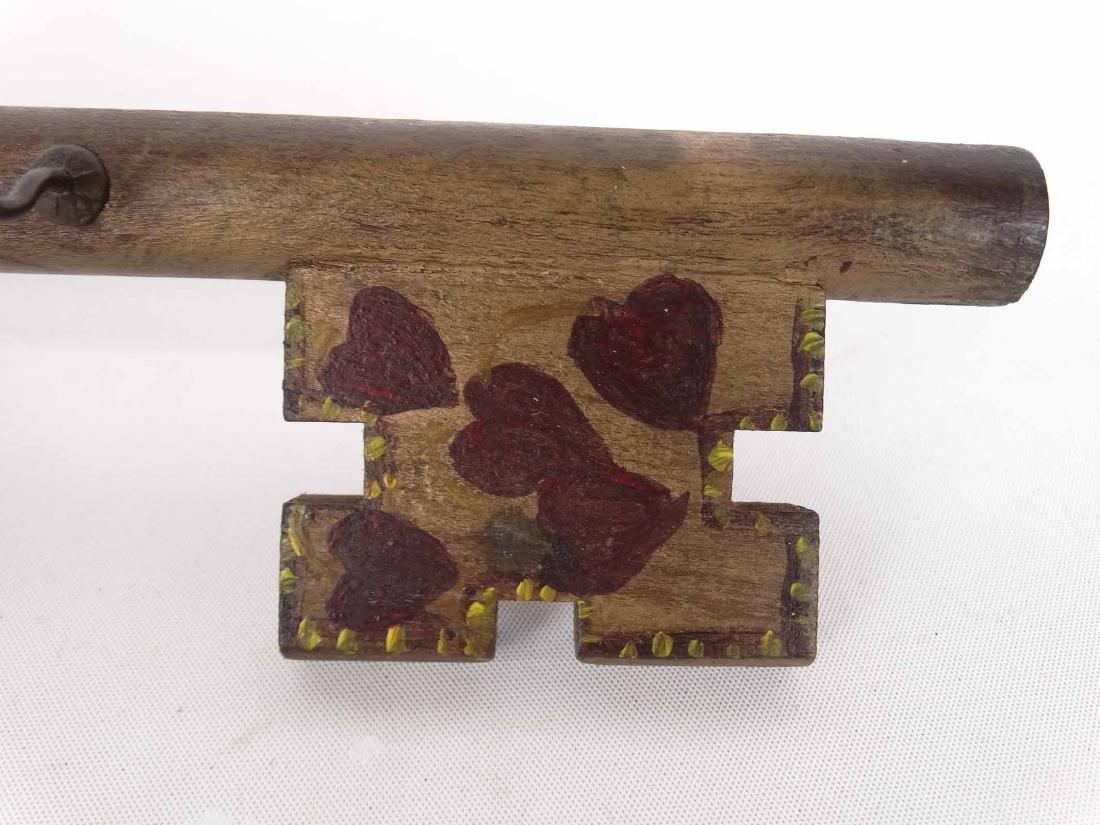 German Folk Art Key Holder - 4