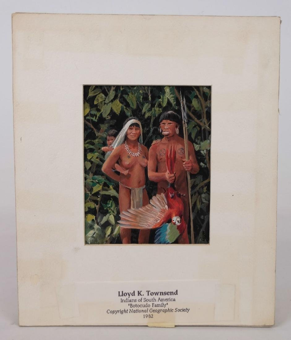 "Lloyd K. Townsend, ""Indians Of South America"""
