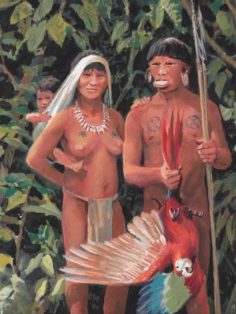 "Lloyd K. Townsend, ""Indians Of South America"" - 2"