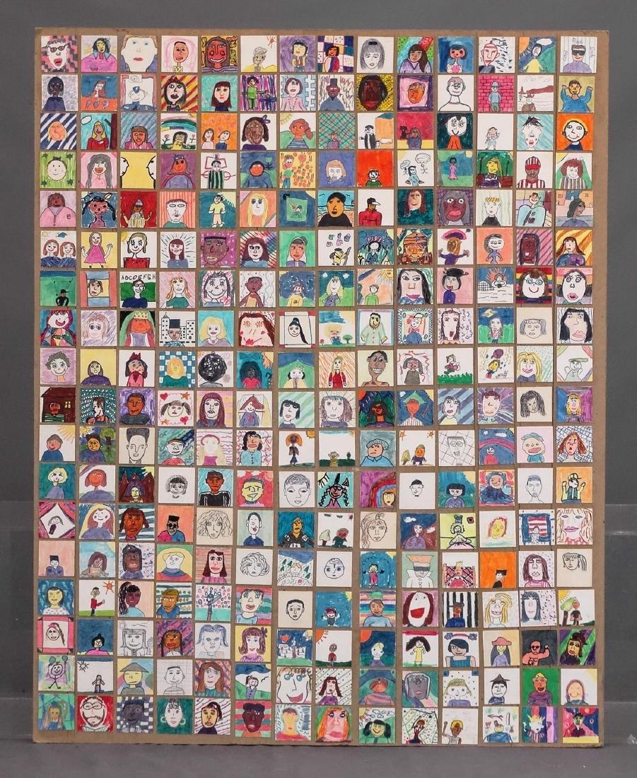 Childrens Self Portrait Artwork