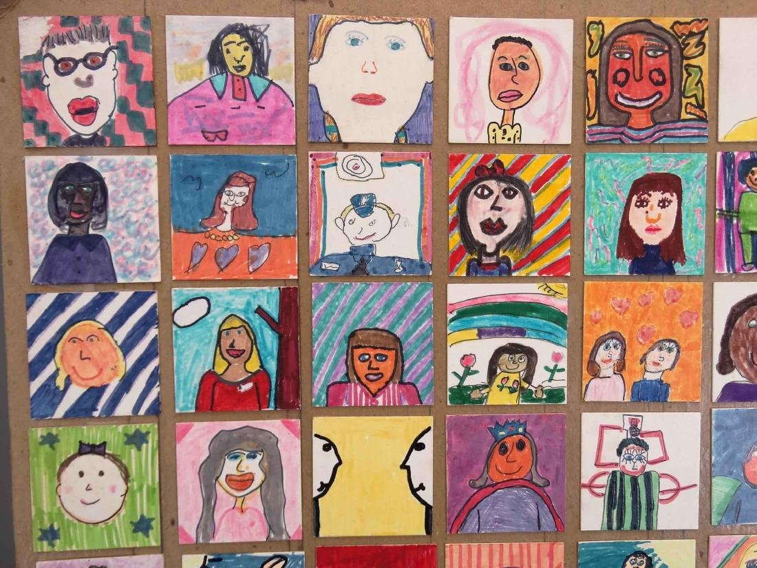 Childrens Self Portrait Artwork - 2