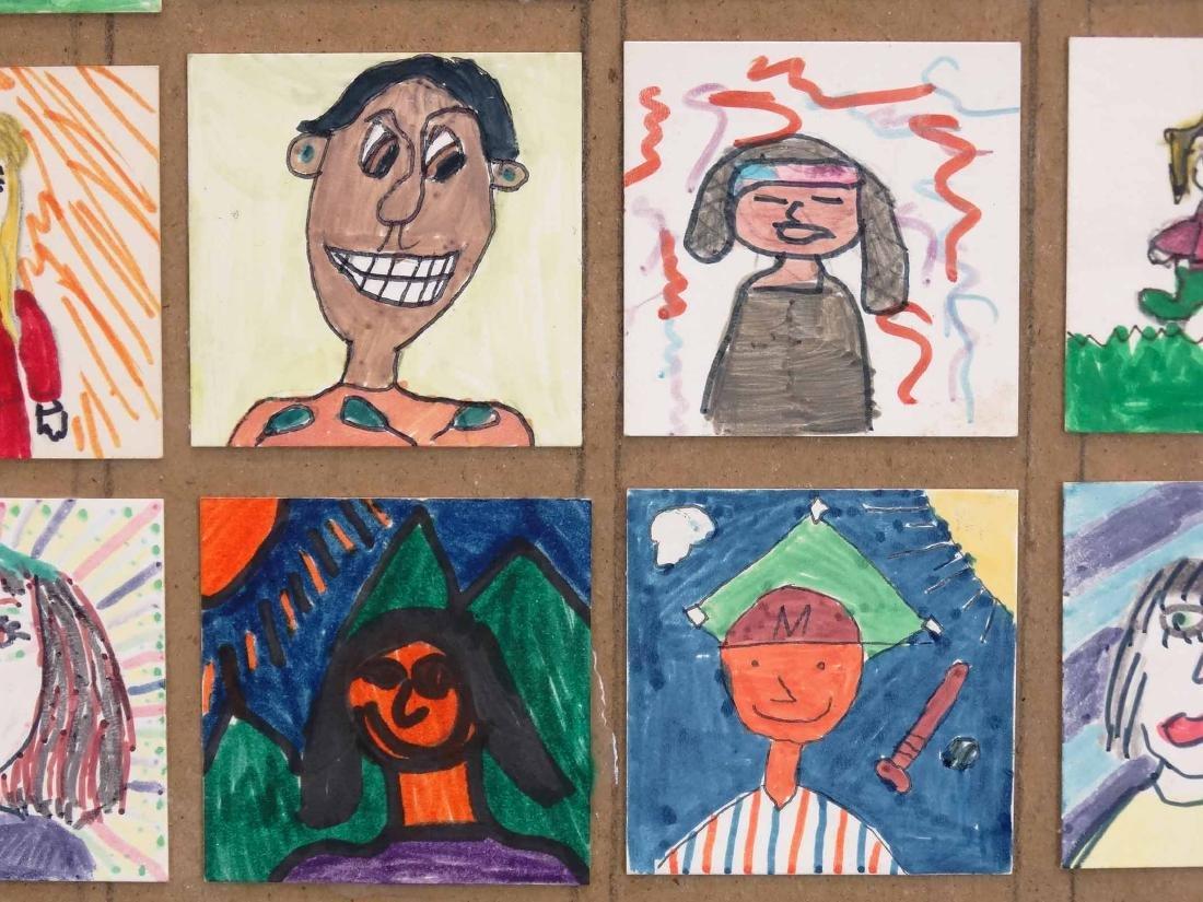 Childrens Self Portrait Artwork - 4