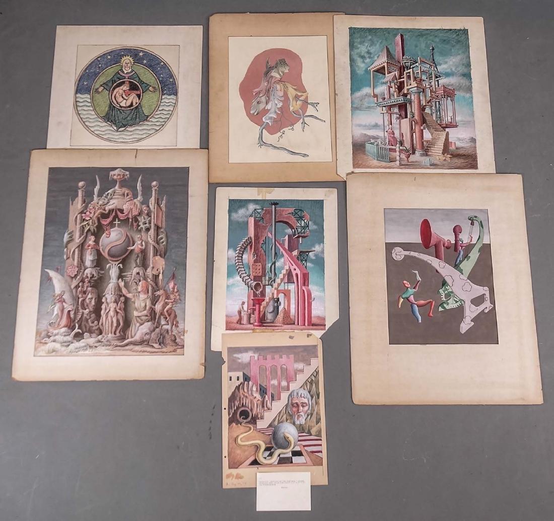 Surrealist School, Artwork Lot
