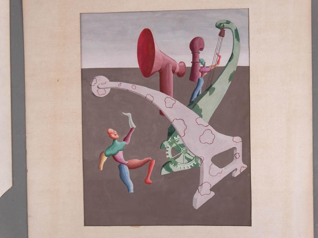 Surrealist School, Artwork Lot - 2