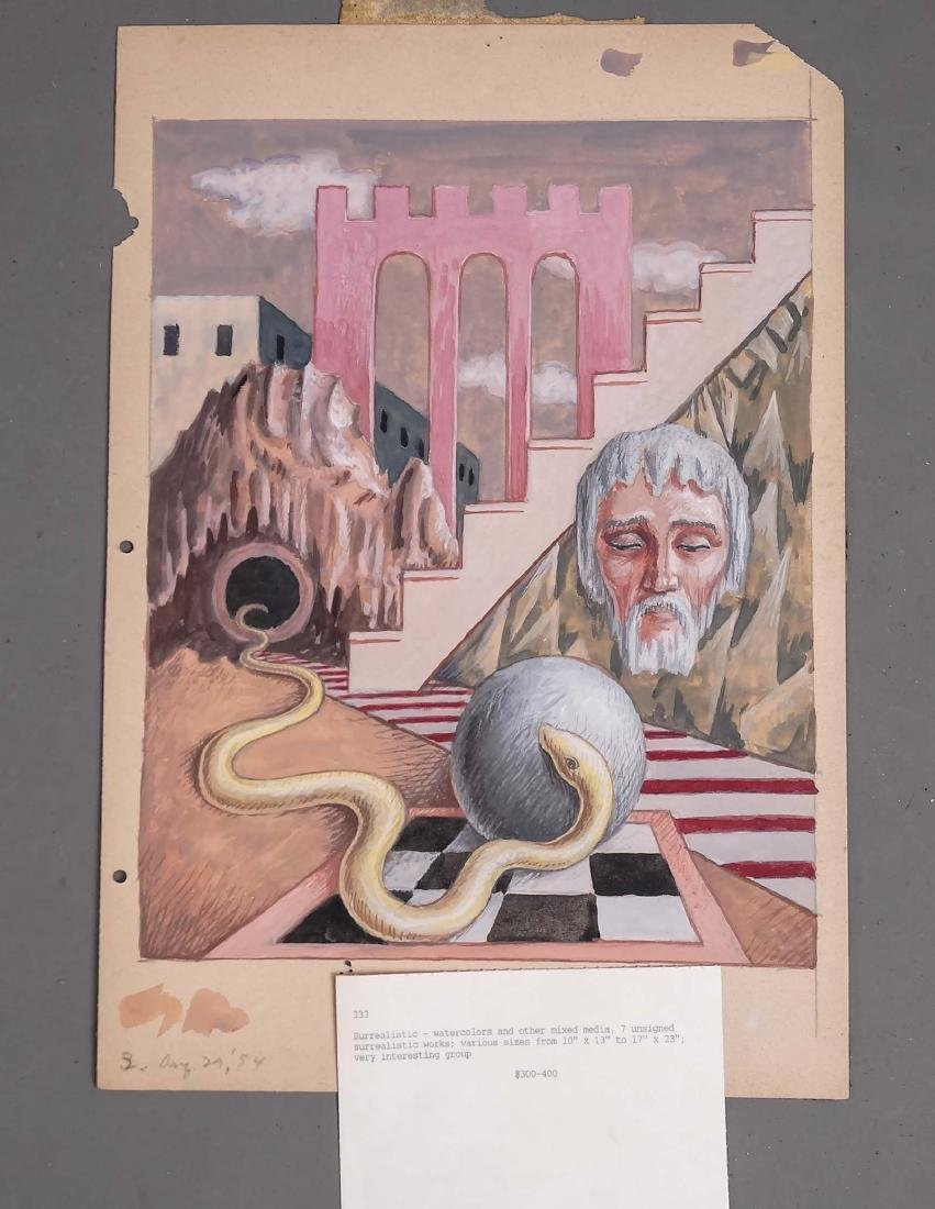 Surrealist School, Artwork Lot - 3