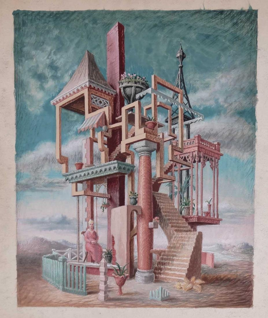 Surrealist School, Artwork Lot - 6