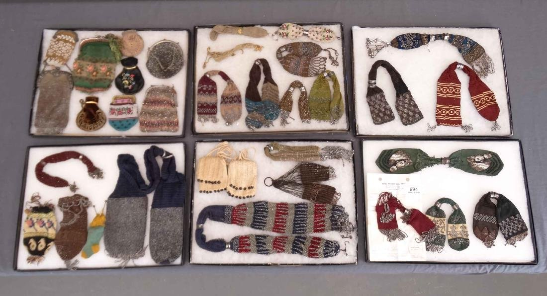 Collection Of Early Purses