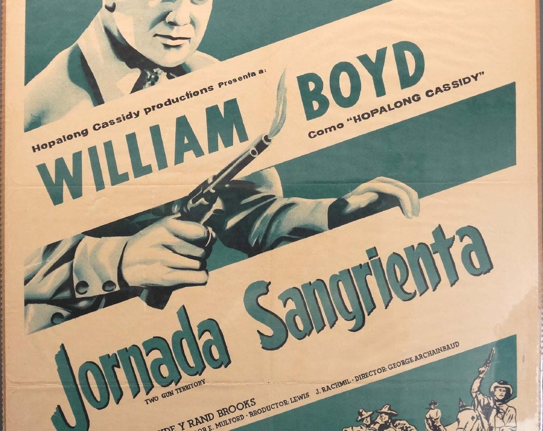 Hopalong Cassidy Movie Posters - 3